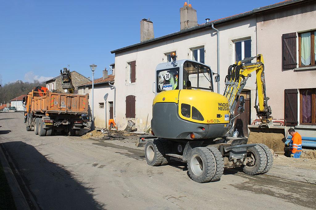 travaux Ville-au-Val